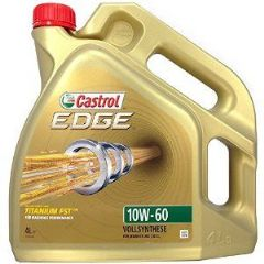 Castrol Edge 10W/60 oil available in 1 Litre & 4 Litre